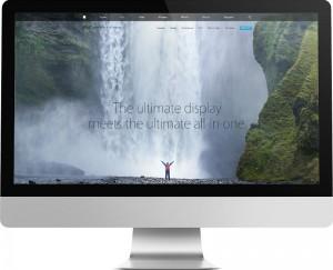 Apple Parallax website