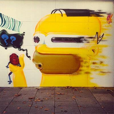 Street art and design Perth